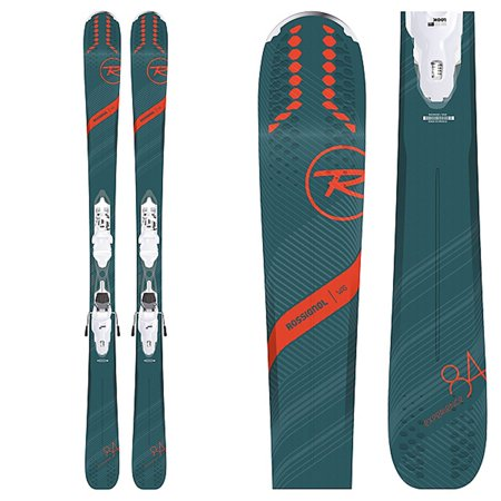 Rossignol Women's Experience 84 AI Skis with Xpress W 11 B93 Wht/Sparkle Bindings 2019