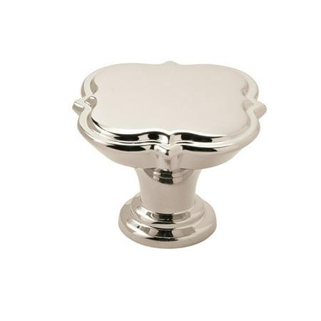 Grace Revitalize 1-3/4 in (44 mm) Diameter Polished Nickel Cabinet Knob