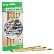 Ticonderoga Envirostik Wood-Cased Pencil, Pre-Sharpened Pencils, 12 Count