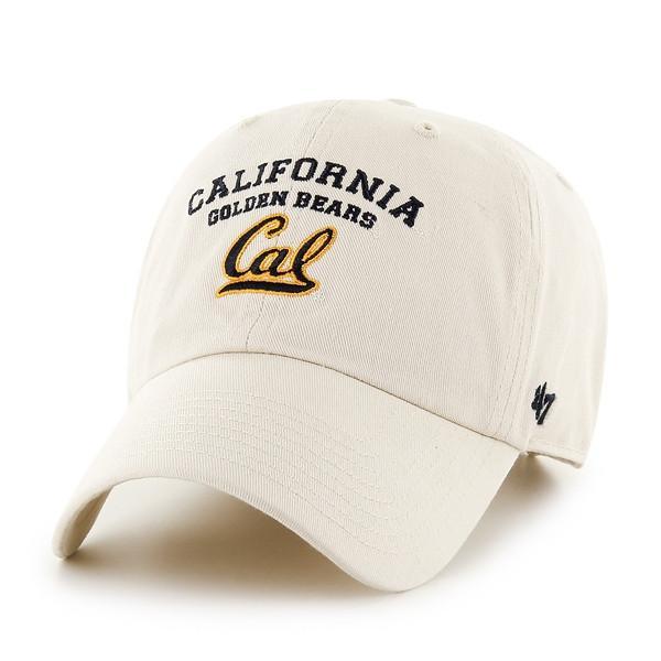 California Golden Bears 47 Washed Twill Adjustable Cap - Khaki
