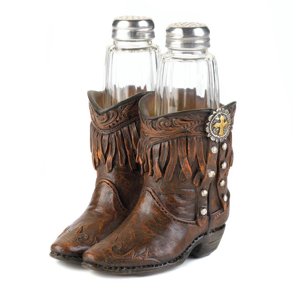 Novelty Salt Pepper Shakers, Cowboy Boots Cool Decorative Salt Pepper  Shaker Set