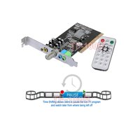 Universal TV FM Tuner Card + DVR Card For Desktop PC Win8 Win7 Win XP