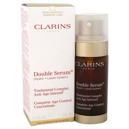 Best Clarins Double Serum Complete Age Control Concentrate Anti Aging Facial Serum, 1 Oz deal