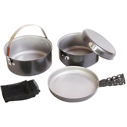 Ozark Trail Campfire 4-Piece Non-Stick Aluminum Cookware Set