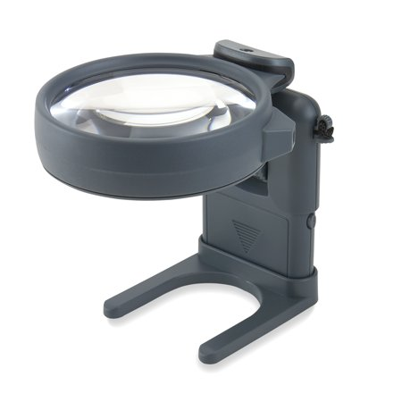 Carson Optical 3-in-1 LED Lighted Hands, Free Hobby Magnifier (Carson Optical Magnifier)