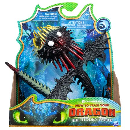 DreamWorks Dragons, Whispering Death, Dragon Figure with Moving Parts, for Kids Aged 4 and up