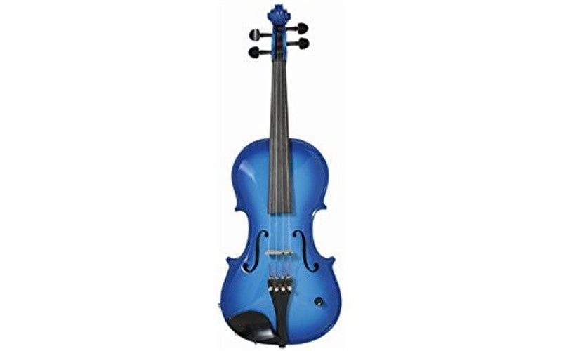 Barcus-Berry Acoustic-Electric Violin Blue Burst by Barcus-Berry