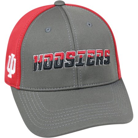 - University Of Indiana Hoosiers Grey Two Tone Baseball Cap