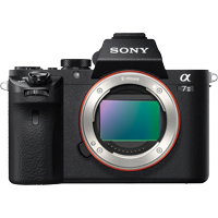 Sony ILCE7M2/B 24.3MP Full HD 1080p Mirrorless Digital Camera Body (Black) + W Series Lithium-Ion Battery