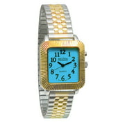 Unisex Glow-in-the-Dark Watch - Square Face with Expansion Band
