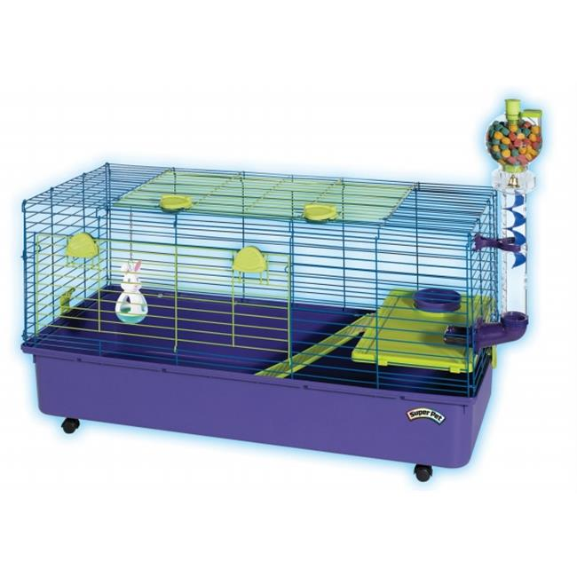 Super Pet-cage - Kaytee Guinea Pig Home Ez Clean 30x18 Inches - 100509299