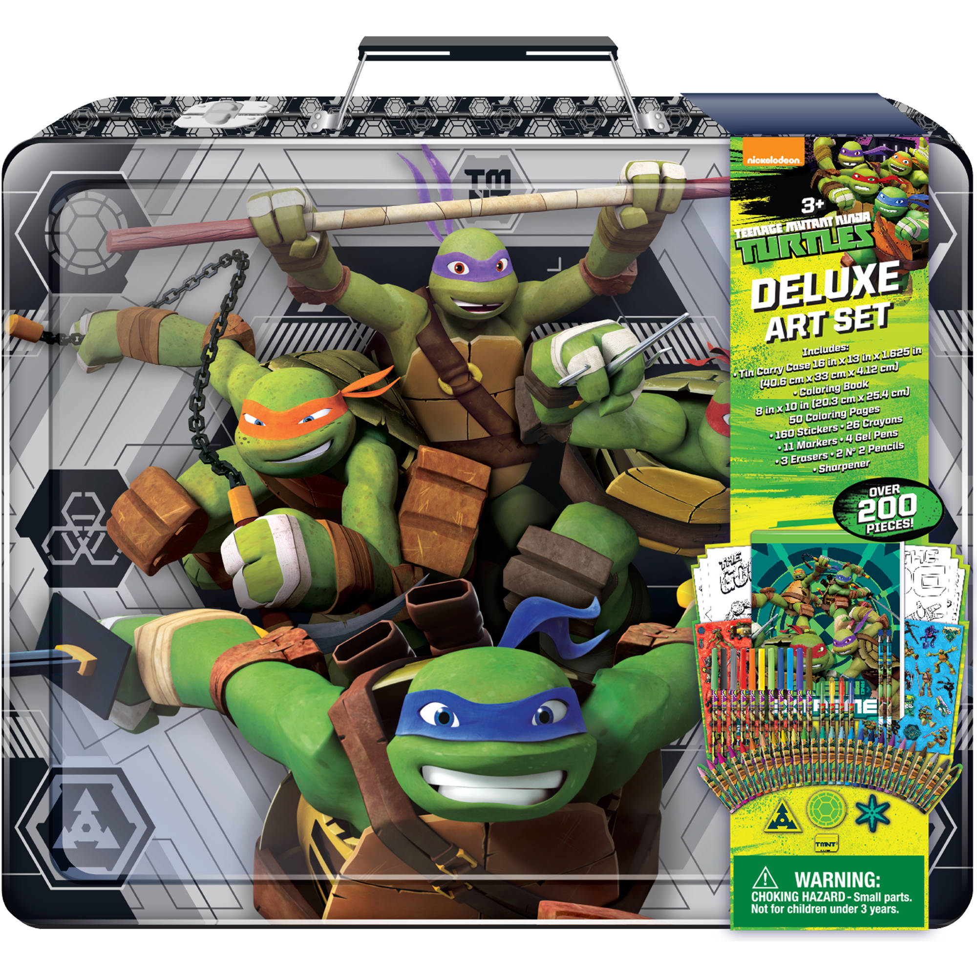 Teenage Mutant Ninja Turtles Deluxe Art Set - Walmart.com