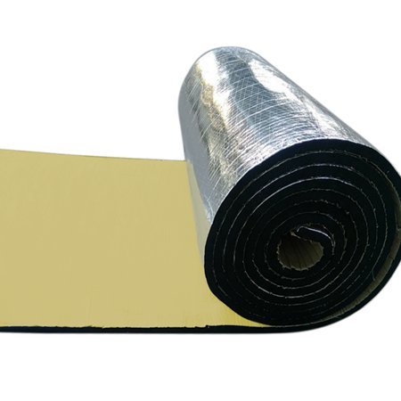 394mil 10.76sqft Car Mat Hood Engine Heat Noise Sound Deadening Deadener Insulation Pad ()