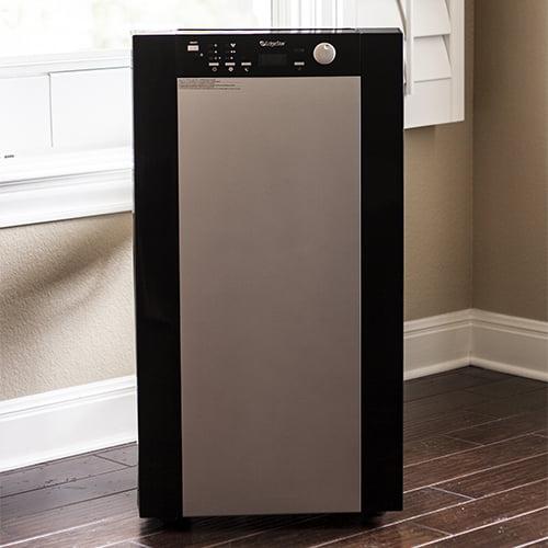 edgestar extreme cool btu dual hose portable air conditioner u0026 heater black - Air Conditioner Portable