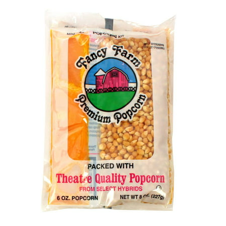 Fancy Farms Popcorn Mini-Max Kit - 8 oz. kit, 36 per - Mini Popcorn