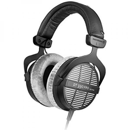 Beyerdynamic DT-990-Pro-250 Professional Acoustically Open Headphones for Monitoring and Studio