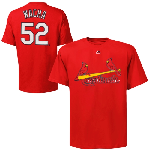 Michael Wacha St. Louis Cardinals Majestic Youth Player Name & Number T-Shirt - Red - Yth L