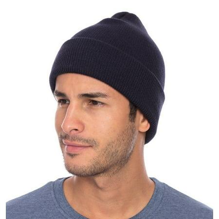 Casaba - Casaba Warm Winter Beanies Hat Cap for Men Women Toboggan Cuffed  Knit Slouch - Walmart.com fd99f344431