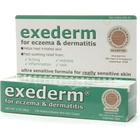 2 Pack - Exederm Flare Control Cream for Eczema & Dermatitis 2