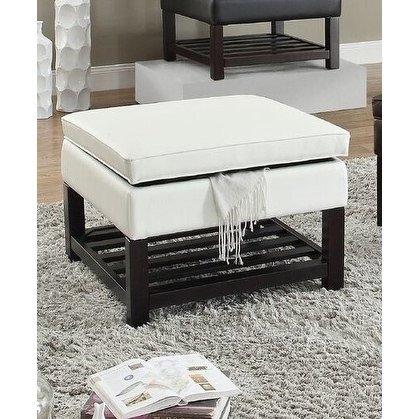 Pleasant Wyatt Upholstered Square Storage Bench Ottoman Creativecarmelina Interior Chair Design Creativecarmelinacom