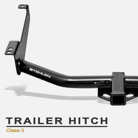 """Stehlen 733469489078 Class 3 Trailer Tow Hitch With 2"""" Receiver ( Black ) For 04-15 Nissan Titan"""