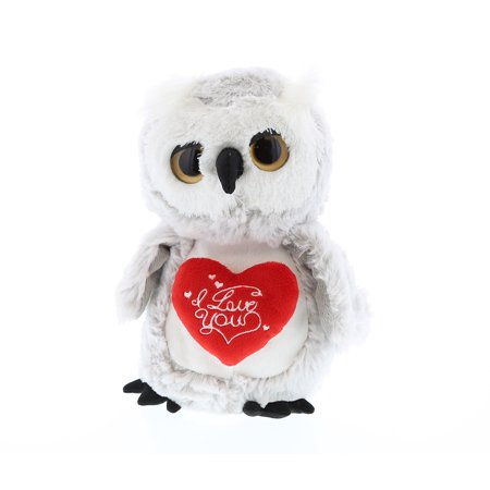 Super Soft Plush Dollibu Owl I Love You Valentines Plush