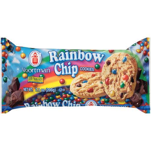 Voortman Rainbow Chip Cookies, 7.1 oz