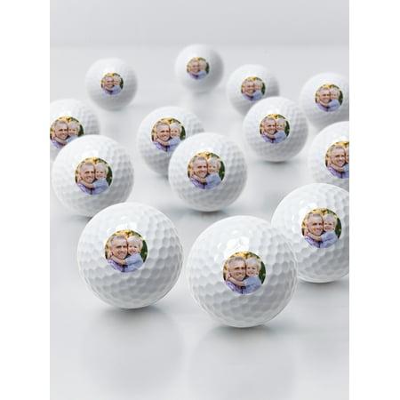 Personalized Photo Golf Balls - 1 Dozen