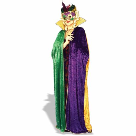 Mardi Gras Cape Adult Halloween Costume Accessory
