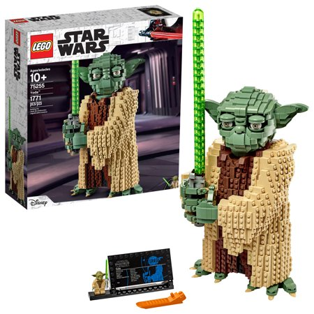 LEGO Star Wars: Attack of the Clones Yoda 75255 Collectible Model and Building Toy (1,771 Pieces)
