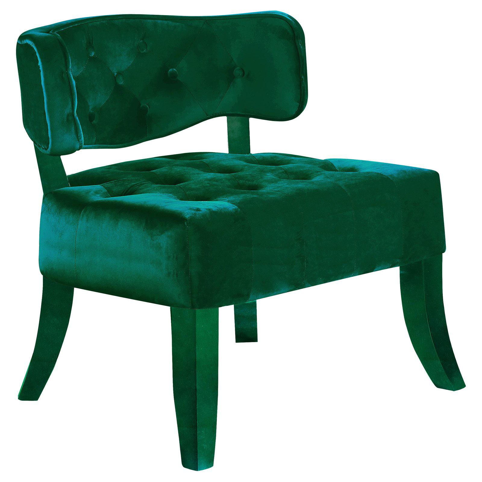 Meridian Furniture Inc Charlotte Velvet Accent Chair