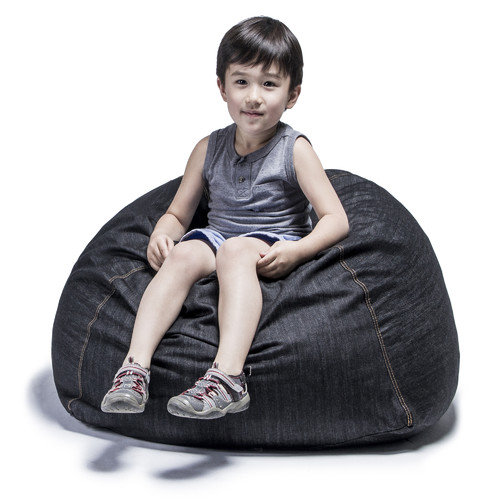jaxx Denim Kids Club 2.5' Bean Bag Chair