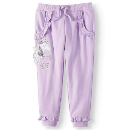 - Ruffle French Terry Sweatpants (Little Girls & Big Girls)