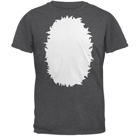 Halloween Raccoon Costume Mens T Shirt - Fairy Tail Halloween Gray