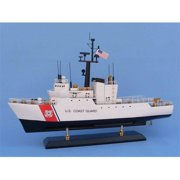 Handcrafted Decor USCG MEC United States Coast Guard Uscg Medium Endurance Cutter Model Ship, 18 inch