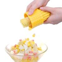 FeelGlad Corn Cob Peeler, Corn Stripping Tool, Corn Stripper Kitchen Cooking Tools, 304 Stainless Steel Blade, Yellow