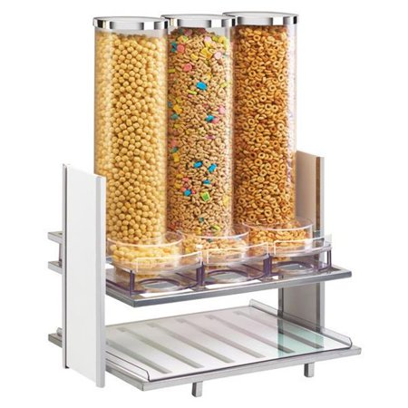 Eco Collection Cereal - Cal Mil 1499-15 Eco Modern Cereal Dispenser - White