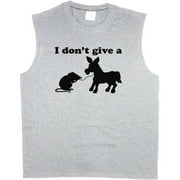 Donkey Rat Funny Men's Sleeveless T-shirt Muscle Tee