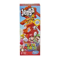 Jenga: Super Mario Edition Game, Inspired by the Video Game, 2-4 Players