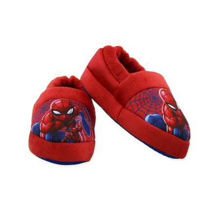 Spider-Man Toddler Boys Plush Aline Slippers SPF250 - Dorothy Ruby Slippers For Kids