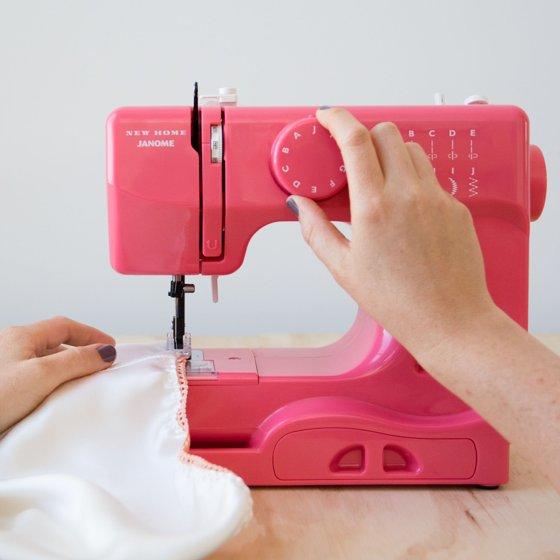 Janome Basic 40Stitch Portable Sewing Machine With Top DropIn Awesome Janome Basic 10 Stitch Portable Sewing Machine