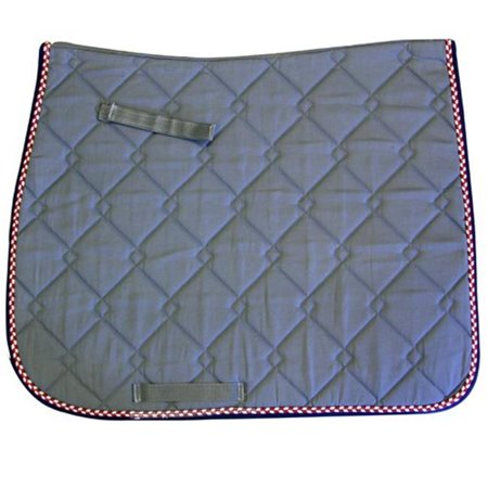 Exselle 158554ST Quilted Dressage Saddle Pads - Assortedcolor