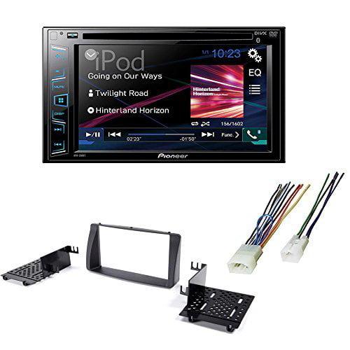 Pioneer Double Din DVD/ CD Bluetooth Car Stereo Radio Rec...