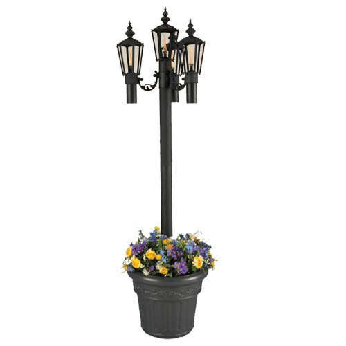 Newport Planter Torch by Patio Living Concepts