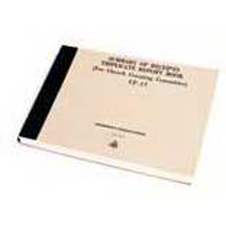 Finance-Summary Of Receipts Book In Triplicate (CF17) (Book Of -