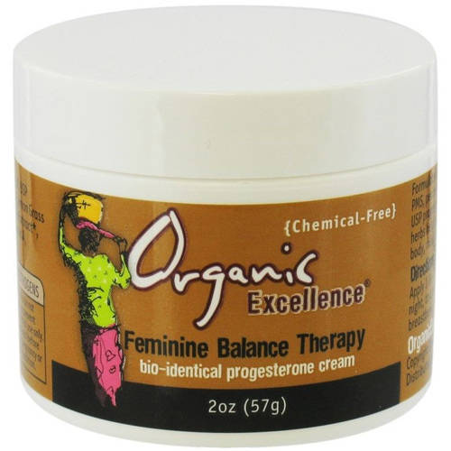Organic Excellence Feminie Balance Therapy Cream, 2 OZ