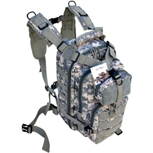 Every Day Carry Day Pack Backpack EDC MOLLE Tactical Assault Bag - ACU