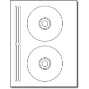 2up Avery? 5931? Style CD Labels - 20 Sheets / 40 Labels