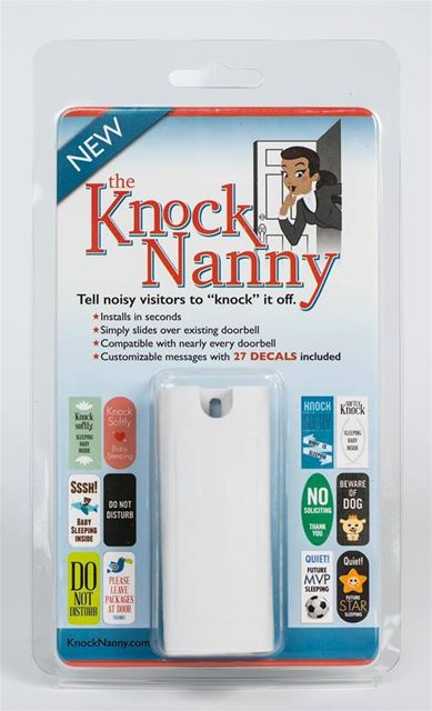 Knock Nanny Door Bell Sign by Knock Nanny