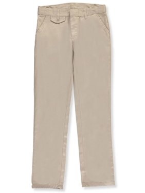 Genuine Girls School Uniform Straight Leg Flat Front Pants (Big Girls)